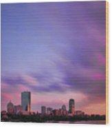 Boston Afterglow Wood Print by Rick Berk