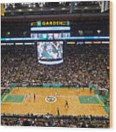 Boston Celtics Wood Print by Juergen Roth