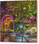 Boston Harbor Hotel 2363 Wood Print