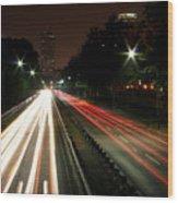 Boston Highway Wood Print