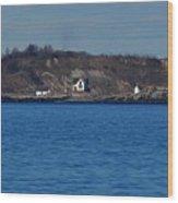 Boston Light And Great Brewster Island Wood Print
