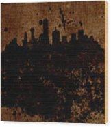 Boston Massachusetts Skyline  Wood Print