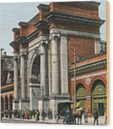 Boston: North Station Wood Print