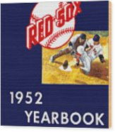 Boston Red Sox 1952 Yearbook Wood Print