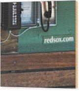 Boston Red Sox Dugout Telephone Wood Print