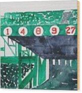 Boston Retired Numbers Wood Print