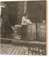 Boston: Slums, 1909 Wood Print