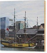 Boston Tea Party 14bos045 Wood Print
