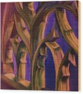 Boston Trinity Church Wood Print by Dana Redfern