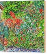 Botanical Garden Wood Print