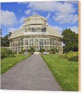 Botanical House Wood Print