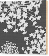 Botanicals Grey Wood Print