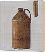 Bottle Wood Print