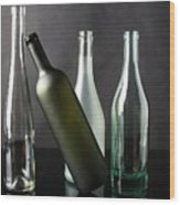 Bottle Collection Wood Print