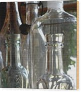 Bottle Necks Wood Print