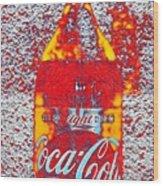 Bottle Of Coca-cola Wood Print