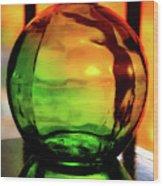 Bottle Of Sunlight Wood Print