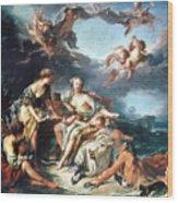 Boucher: Abduction/europa Wood Print
