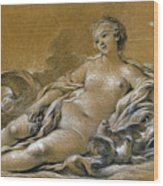 Boucher: Venus Wood Print