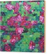 Bouganvillea - Tiled Wood Print
