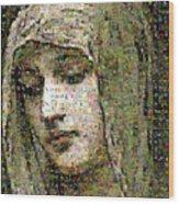 Bouguereau - Modestie Wood Print