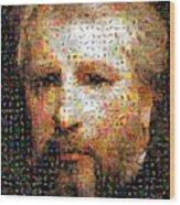 Bouguereau Self Portrait Wood Print