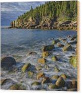 Boulder Beach Morning Wood Print