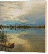 Boulder County Colorado Calm Before The Storm Wood Print