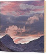 Boulder County Colorado Indian Peaks At Sunset Wood Print by James BO  Insogna