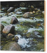 Boulders - Mossman Gorge, Far North Queensland, Australia Wood Print