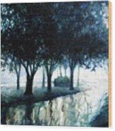 Boulevard Wood Print