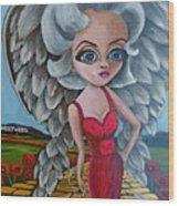 Boulevard Of Broken Wings Wood Print