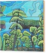 Boundary Waters Wood Print