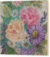 Bouquet 2 Wood Print
