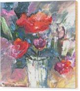 Bouquet De Chez Moi 01 Wood Print