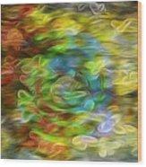 Bouquet Downstream Wood Print