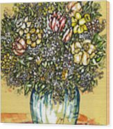 Bouquet For You Wood Print