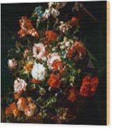 Bouquet No. 11 Wood Print