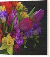 Floral Dance Wood Print