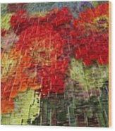 Bouquet Of Colors Wood Print