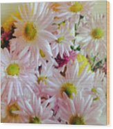 Bouquet Of Daisies Wood Print