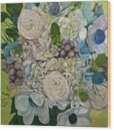 Bouquet Of Love Wood Print
