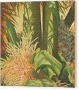 Bouquet Of Palm Wood Print