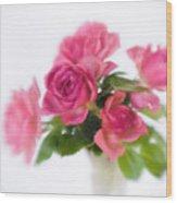 Bouquet Of Roses II Wood Print