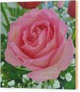 Bouquet Rose Wood Print