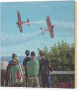 Bournemouth Air Festival Wood Print