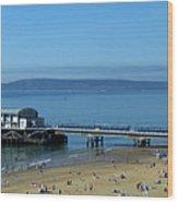 Bournemouth Pier Dorset - May 2010 Wood Print