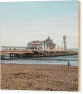 Bournemouth Pier No 2 Wood Print