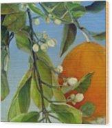 Boutons d Oranges Wood Print