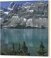 Bow Lake Area Wood Print